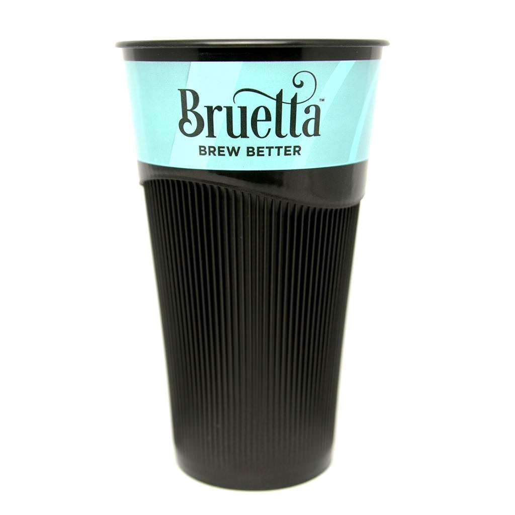 This is a reusable cup for use with our disposable lids, so it is only the first step towards a fully reusable version, but it is a significant step and it works great.